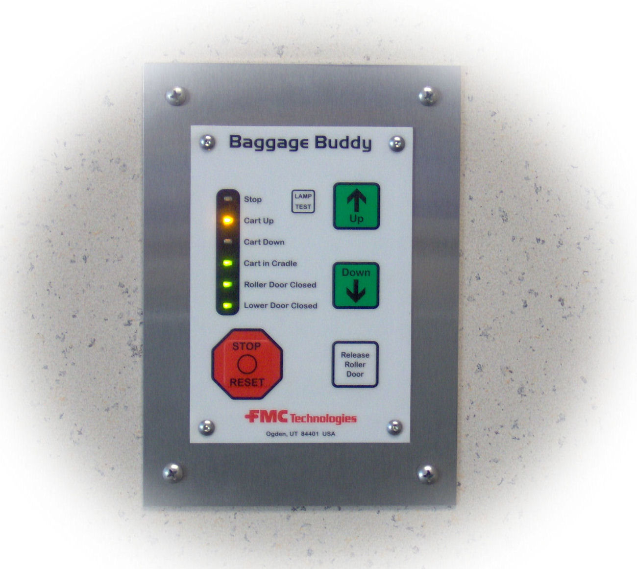 Baglift touch pad